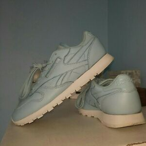 Women's Uk 6 (39) Reebok Classic leather Trainers Z' Blues Excellent condition