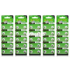 50 Pcs AG1 364 LR621 164 531 SR60 SR621SW 1.55V Alkaline Watch Coin Cell Battery