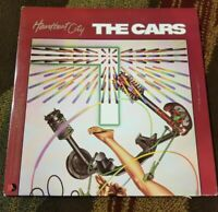 "Vintage 1984 The Cars ""Heartbeat City"" LP - Elektra Records (60296) NM"