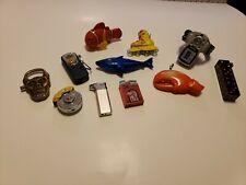 New listing Vintage Novelty Butane Lighter Lot of 11 shark skull fish caliper bottle opener
