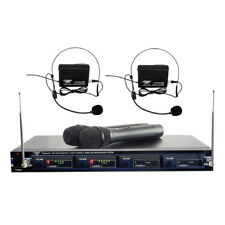 Pyle Audio T51500B Wireless Rack Mount Microphone System