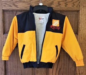 Chase Authentics Tony Stewart Home Depot #20 Nascar Hooded Youths Small Jacket