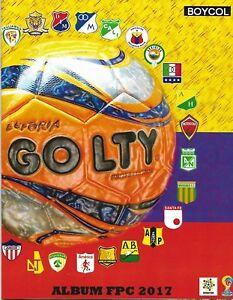 Futbol Profesional Colombiano 2017 - BOYCOL Album COMPLETE