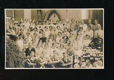 Somerset WESTON-SUPER-MARE Church gathering c1920s? RP PPC local pub Bellamy