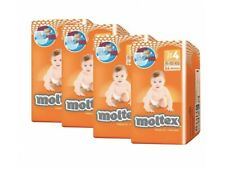 Pañales Moltex T4 9-15Kg 216 unidades (Pack 4*54 uds)