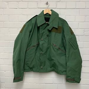 BALLYCLARE RAF AIRCREW GREEN MK4 FR COLD WEATHER JACKET - Size: 8 , British
