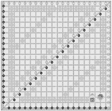 """Creative Grids 20 1/2"""" Square Ruler Sewing and Quilting Ruler"""