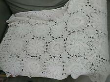 Crochet tablecloth26.5x96inch