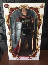Disney Store Sleeping Beauty Prince Phillip Limited Edition Doll New