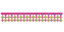 NEW ✿ Flower Lattice Lace Border Tassel Edge Die ✿ For Cuttlebug & Sizzix ✿