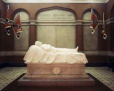 Recumbent Statue Robert E. Lee Lexington Virginia New 8x10 US Civil War Photo