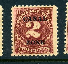 Canal Zone Scott #J13 Postage Due Mint Stamp NH (Stock #CZJ13-12)