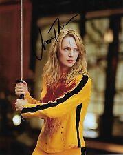 "Uma Thurman ""Kill Bill"" Autographed 8 x 10 Signed Photo HOLO COA"