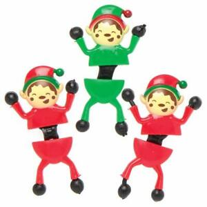 Christmas Elf Wall Climbers Novelty Toys for Kids,Ideal for Party Favours,