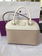 New Kate Spade New York Mini Carli Satchel Cross body messenger shoulder bag