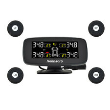 """Wireless Real-time Monitoring TPMS Tire 3"""" Display Pressure Monitoring System"""