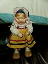 1930 TANIKA Russian Stockinette Soviet Union Handmade Beautiful Doll