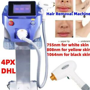 1064nm 755nm 808nm Diode Laser Permanent Body Facial Hair Removal Salon Devices