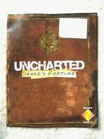 76355 Instruction Booklet - Uncharted Drake's Fortune - Sony PS3 Playstatio