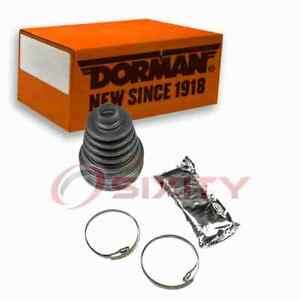 Dorman Front Outer CV Joint Boot Kit for 1989-1997 Geo Tracker Driveline fb