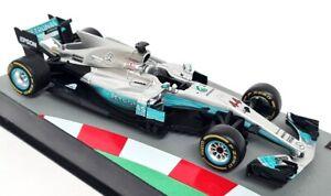 Atlas 1/43 - Mercedes F1 W08 EQ Power 2017 Lewis Hamilton Model F1 Car - 81