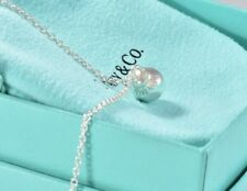 "Tiffany & Co Sterling Silver HardWear Ball Pendant 16"" - 18"" Necklace Hardware"