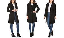 64db856858299 Haute Edition Womens Maxi Walker Wool Blend Coat 1x Black