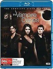 THE VAMPIRE DIARIES The Complete Sixth Season 6 (4 Disc Blu-ray) - Region B