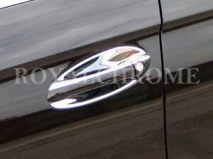 US Seller 4x Door Handle Insert Covers for Mercedes Benz C E S CLS CLASS CHROME