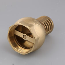 1//2 INCH ID HOSE. JOE MESCAN FOOT CHECK VALVE WITH 90 DEGREE HOSE BARB FOR 3//8