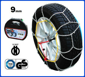 CATENE DA NEVE 9MM 245/45 R17 BMW 5 Touring (E61) [01/2004->12/10]