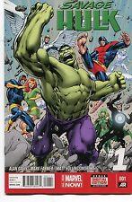 Savage Hulk #1 - Alan David Cover & Artwork - 2014