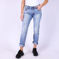 Levi's Quality Crafted 505C Straight Leg hellblau Damen Jeans DE 38 / W26 L34