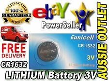 CR1632 Lithium Cell Battery 3 Volts - Stock in Australia
