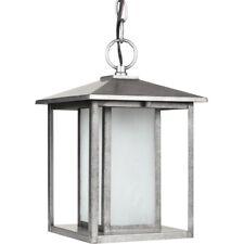 Sea Gull Lighting Hunnington 1 Light Outdoor Mini Lantern Pendant