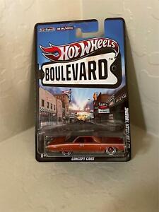 Hot Wheels Boulevard '63 Chrysler Turbine Concept Cars Real Riders D3