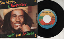BOB MARLEY disco 45 giri  STAMPA ITALIANA Could you be loved 1980 MADE in ITALY