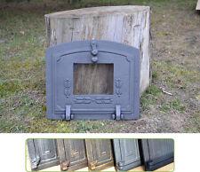 36,5x32cm Cast iron fire door clay / bread oven / pizza stove smoke house DZ014