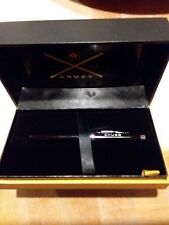 Cross Century II Black Lacquer Rollerball Pen w/ Rhodium Plated Trim, AT0085-102