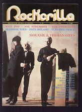 ROCKERILLA 98/1988 SIOUXSIE BANSHEES IGGY POP JOE STRUMMER PRINCE BOLT THROWER