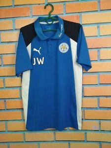 Leicester City Jersey SMALL Training Polo Shirt Mens Football Soccer Puma