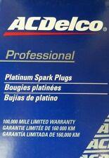 SPARK PLUGS PLATINUM ACDELCO suitable for SUBARU IMPREZA WRX TURBO 1994-2004
