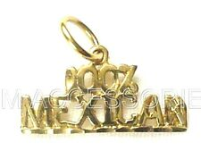 100% Mexican Charm / Pendant EP Gold Plated Jewelry with Lifetime Guarantee