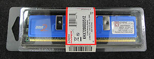 Kingston KHX7200D2512 (512 MB, DDR2 RAM, 900 MHz, DIMM 240-pin)