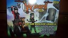 New Wizard 101 ARCANE BUILDER'S BUNDLE Game Card Crowns Build a Castle new