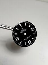 Quadrante Rolex Explorer Swiss Made Black Ristampato 28,5 mm Dial watch nuovo