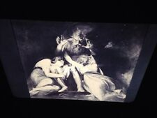 "Henry Fuseli ""Oedipus Announcing His Death"" German Romantic Art 35mm Glass Slide"