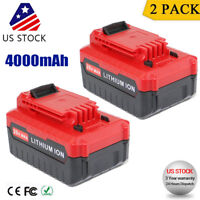 2-Pack For Porter Cable PCC685LP 20V max 4.0 Amp Lithium ion Battery PCC680L New