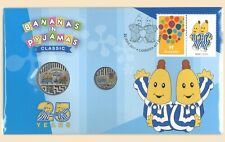 *2017 Australian Bananas in Pyjamas  Coloured 20/&5cent coin PNC*