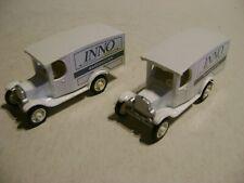 EFSI TOYS 1/86 2 X  CAMIONNETTE INNO- WARENHUIZEN - MADE IN HOLLAND